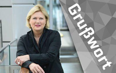 Grußwort von Frau Prof. Dr. Karmann-Woessner, Stadt Karlsruhe