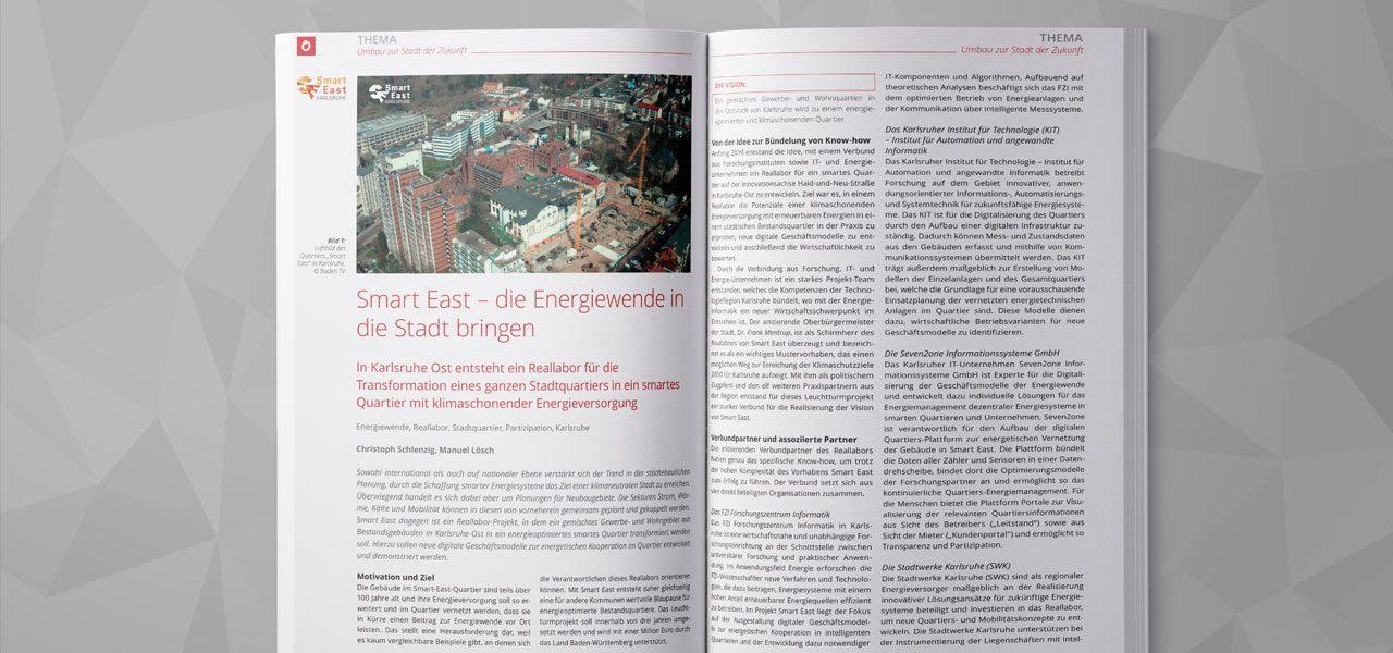 "Blick in das Magazin ""Transforming Cities"""