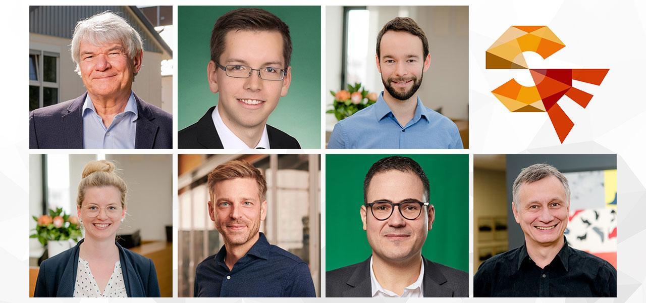 Portraits der Projekt Verbundpartner von Smart East